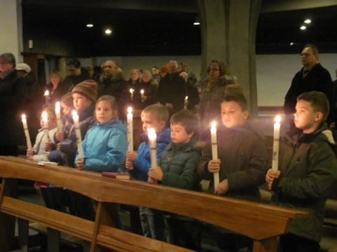 Poświęcenie świec