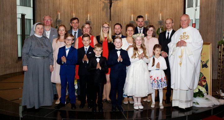 13.05.2018 - I Komunia święta w Remscheid