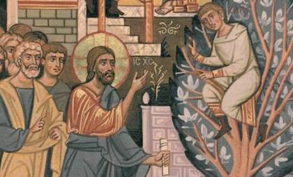 Duch Święty u Łukasza i Zacheusz (Łk 19,1-10)