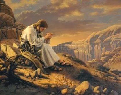 """Modlitwa Jezusa i ... """"koniec świata""""???"""