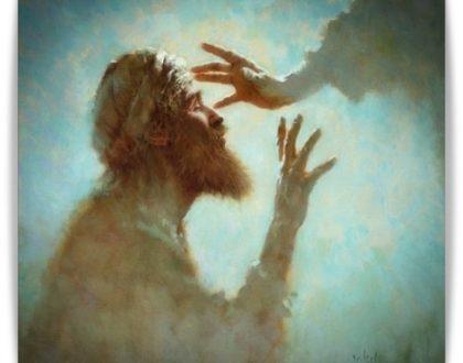 Trzecia zapowiedź Męki i Niewidomy od urodzenia